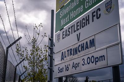 Eastleigh v Altrincham - Vanarama National League