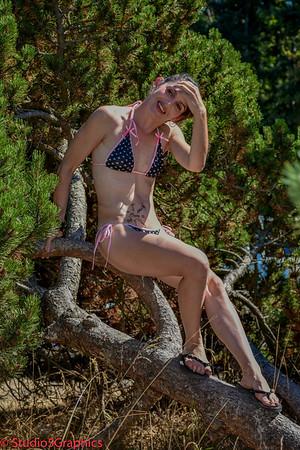 Shannon and Lauren Washington State Bikini Bash 2015