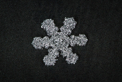 Snowflake Focus Stack #3