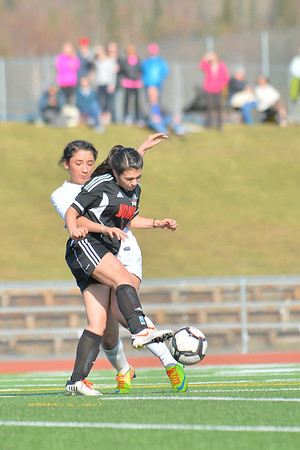April 30, 2014: South Anchorage High School vs. Juneau-Douglas High School Girls Soccer