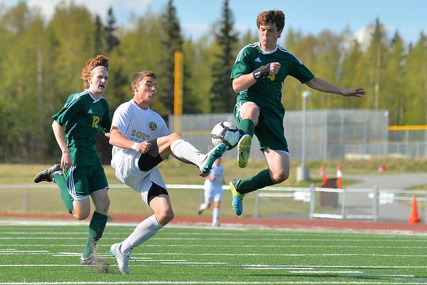 May 8, 2014: South High School vs. Service High School Boys Soccer