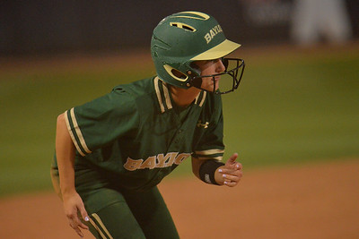 TUCSON, AZ - MAY 26:  Kyla Walker #2 of the Baylor Bears looks on during game one of the NCAA Div. I Super Regional against the Arizona Wildcats on May 26, 2017 at Hillenbrand Stadium in Tucson, Arizona. Arizona won 3-2.  (Photo by: Sam Wasson)
