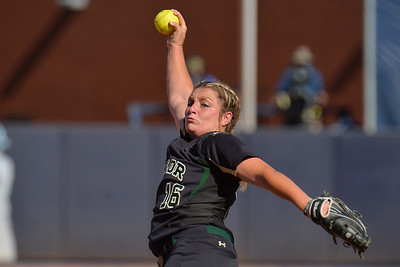 TUCSON, AZ - MAY 28:  Kelsee Selman #16 of the Baylor Bears throws a pitch during game three of the NCAA Div. I Super Regional against the Arizona Wildcats on May 26, 2017 at Hillenbrand Stadium in Tucson, Arizona.  (Photo by Sam Wasson)