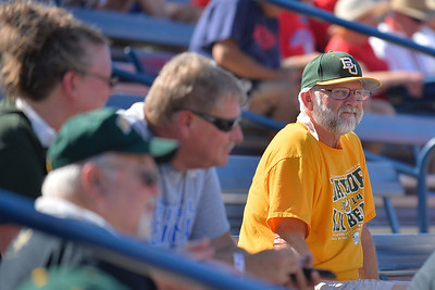 TUCSON, AZ - MAY 28:  A Baylor Bears waits for the start of game three of the NCAA Div. I Super Regional against the Arizona Wildcats on May 26, 2017 at Hillenbrand Stadium in Tucson, Arizona.  (Photo by Sam Wasson)