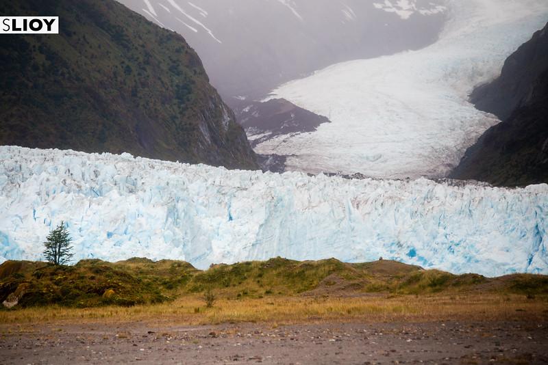 Landscapes of Bernardo O'Higgins National Park in Chilean Patagonia.