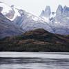 Mountains of Patagonia in Bernardo O'Higgins National Park.