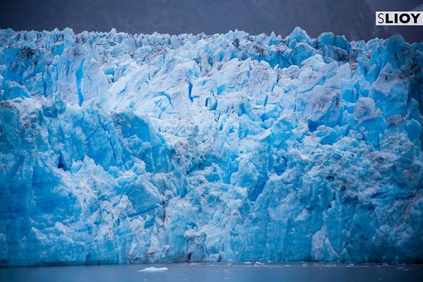 Glaciers in Chilean Patagonia.