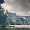 The mighty El Brujo glacier in Bernardo O'Higgins National Park in Chile.