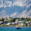 View of Puerto Natales para el Sono Ultima Esperanza.