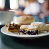 Teatime snacks on the Skorpios III cruise ship's Kaweskar route.