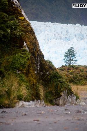 Natural beauty of Bernardo O'Higgins National Park in Chilean Patagonia.