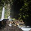 Cascadas Escondidas forgotten waterfalls in Chilean Patagonia's Parque Pumalin.