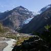 Yelcho Glacier Trail in Northern Patagonia.