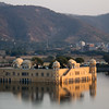 Jaipur's Water Palace - the view from above.