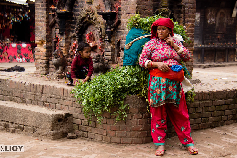 A moment of intrigue! Bisket Jatra 2015 in Bhaktapur.