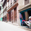 Open for business in Patan Kathmandu Nepal.