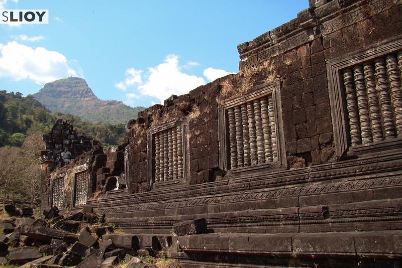 Ruins of Wat Phu in Champasak, Laos.