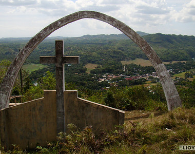cemetary above bohol philippines