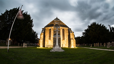 20181016 - Beaulieu Abbey Church - South End