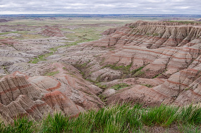 Badlands Expansive Vista