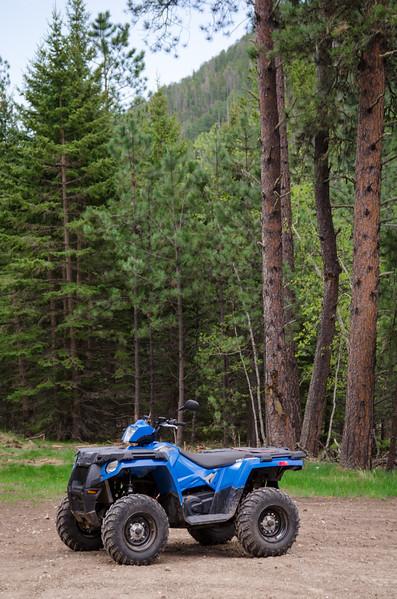 ATV In Black Hills