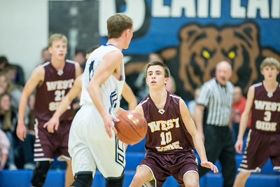 West Side 34 v  Bear Lake 59 District Playoff-62