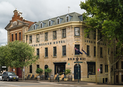 Lord Nelson Hotel, The Rocks district, Sydney