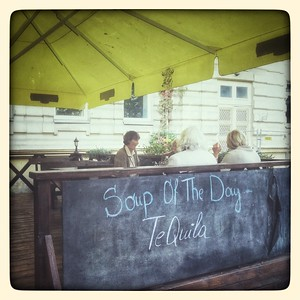 I'll have a soup of the day with a pinch of salt. Vilnius.