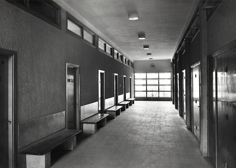 Corridor with Benches