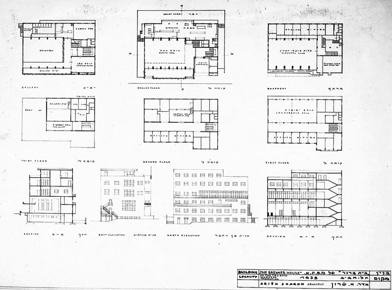 Plans, Elevations and Sections