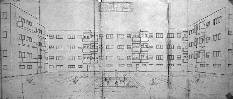 Interior Courtyard - Cooperative Housing IV