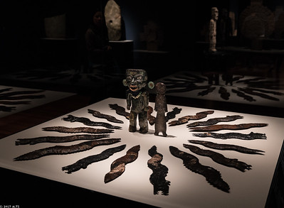 Obsidian Figurines and Blades