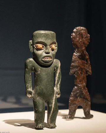 Standing Figures from the Moon Pyramid