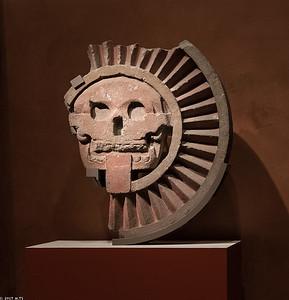 The Curcular Releief from the Sun Pyramid