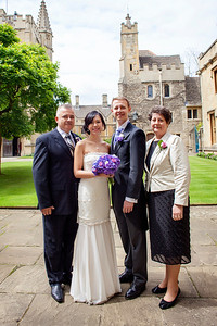 Linda and Marius' Summer Oxford Wedding at the Ashmolean Museum and Magdalen College