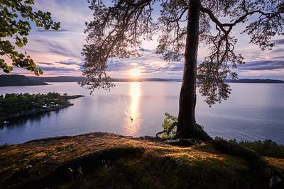 Utsikt fra Veggefjell