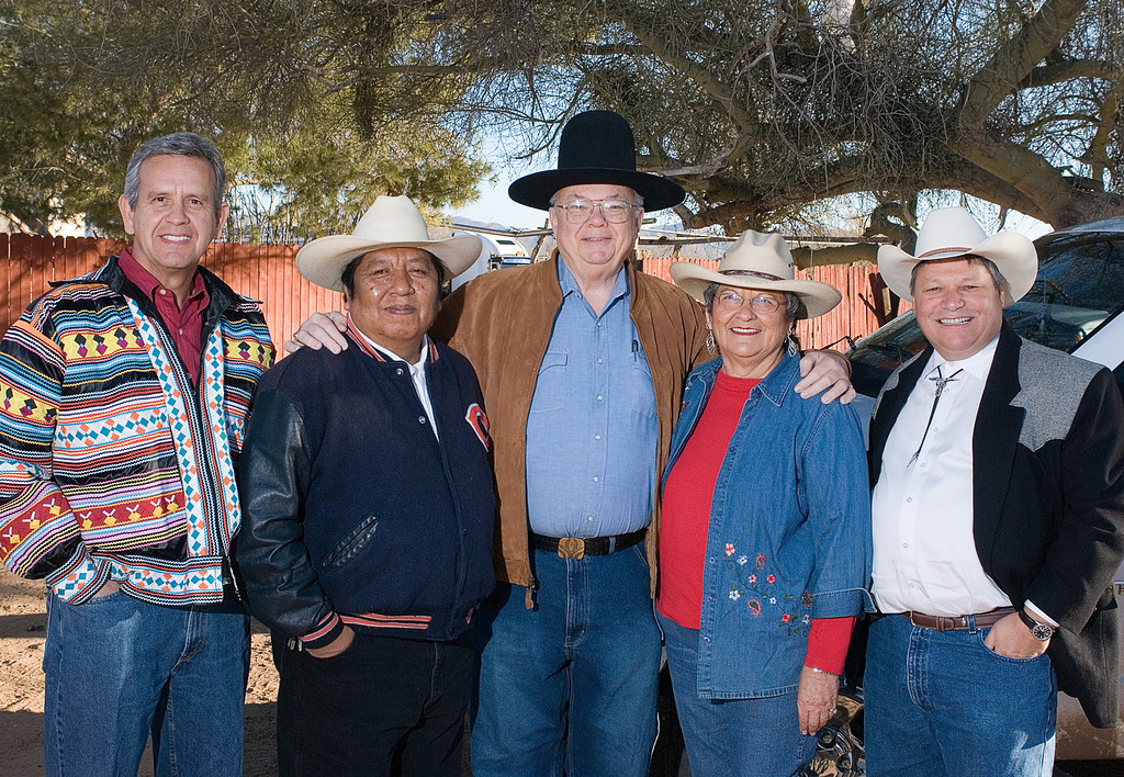 2.3.2007 Images from the Tohono O'odham Parade and Rodeo in Sells, Arizona