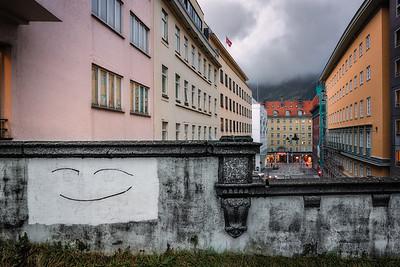 Et lite smil i Bergen