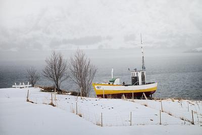 Båt i landskapet