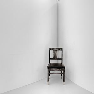 La chaise où quelqu'un s'est assis