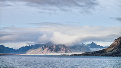 Leaving Hornsundfjord