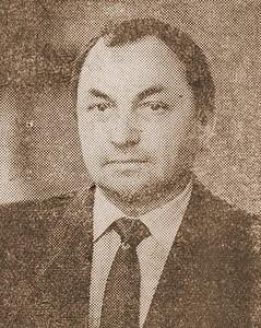 Владимир Яковлевич Казарин. Начальник команды