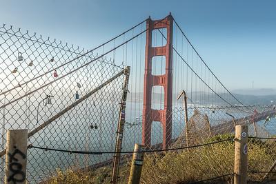 Love Locks of Golden Gate