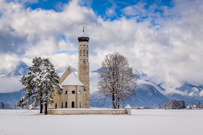 St. Coloman church / Schwangau, Germany