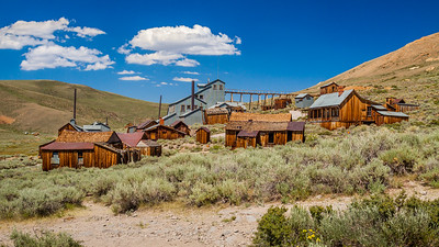 Gold rush / Bodie, California