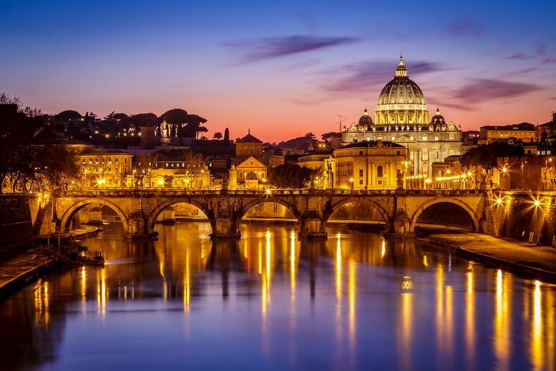 Vatican dusk / Rome, Italy