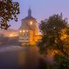 A foggy start / Bamberg, Germany