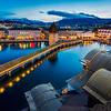Old town view / Lucerne, Switzerland