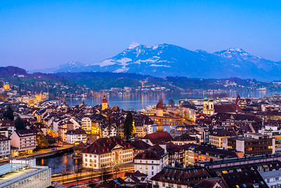 City panorama / Lucerne, Switzerland