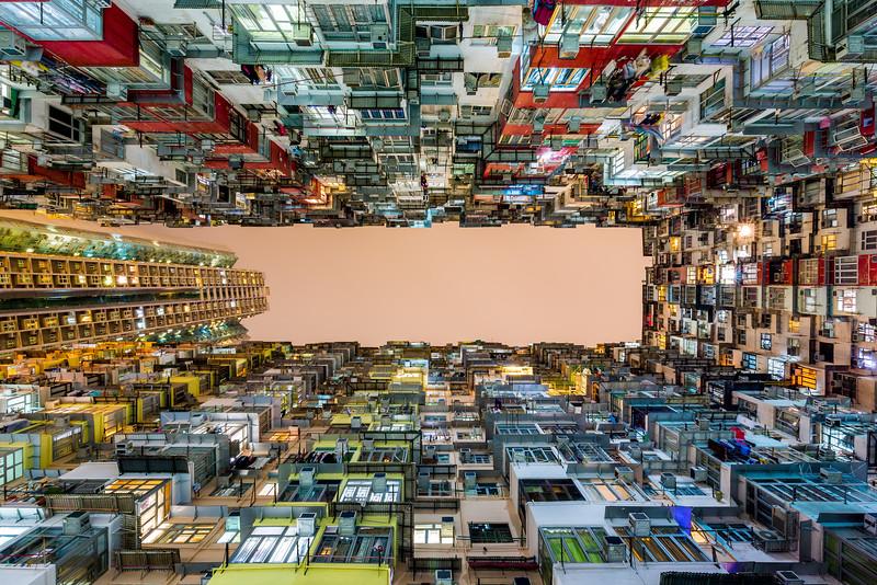 Looking up / Quarry bay, Hong Kong